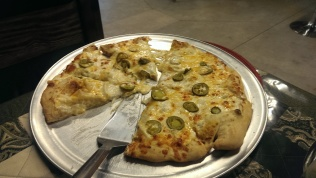 Jalapeno pizza at Dough Girls