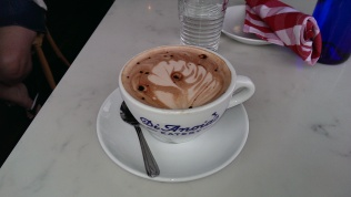 Hot chocolate at Di Anoia