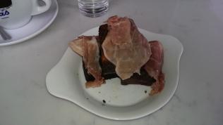 Bread Pudding at Di Anoia