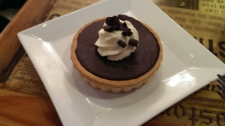 Boston Cream Pie tart