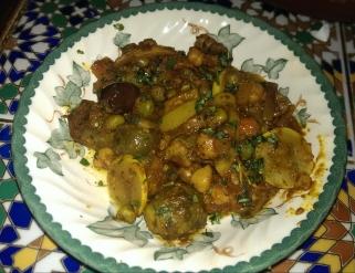 Moroccan vegetables